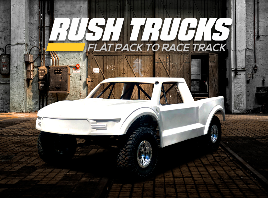 Rush Trucks Flat Pack Trophy Trucks Delivered To Your Door